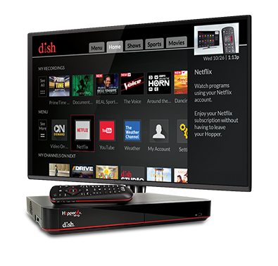 The Hopper - Voice remotes and DVR - Kerrville, TX - Audio Video Technologies - DISH Authorized Retailer